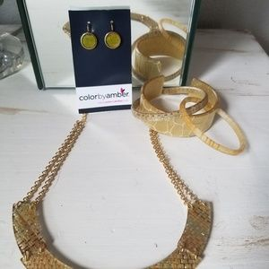 Color by Amber jewelry set